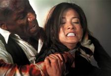 Ving Rhames and Kelly Hu fight to the death in The Tournament.