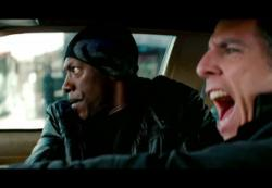 Eddie Murphy and Ben Stiller in Tower Heist.