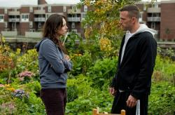 Rebecca Hall and Ben Affleck in The Town.