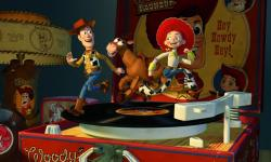 Woody discovers his famous past in Toy Story 2.