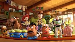 Childhood nostalgia personified in Toy Story 3.
