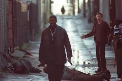 Denzel Washington and Ethan Hawke in Training Day.