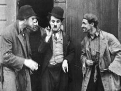 Charlie Chaplin in The Tramp