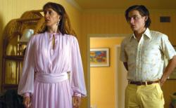 Felicity Huffman and Kevin Zegers as Bree and Toby in Transamerica