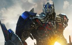 Optimus Prime in Transformers: Age of Extinction.
