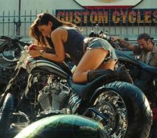 Megan Fox shows off her ass-ets.
