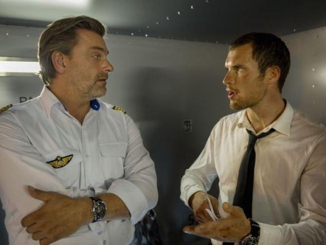 Ray Stevenson and Ed Skrein in The Transporter Refueled.