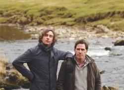 Steve Coogan and Rob Brydon playing variations of themselves in The Trip