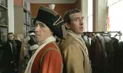Rob Brydon and Steve Coogan play Rob Brydon and Steve Coogan in Tristram Shandy: A Cock and Bull Story.