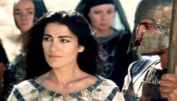 Irene Papas as Helen in The Trojan Women