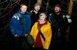 Glenn Erland Tosterud, Tomas Alf Larsen, Johanna Morck and Otto Jesperson in Trollhunter