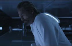 Jeff Bridges in Tron: Legacy.