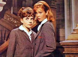 Hayley Mills and June Harding in The Trouble with Angels.