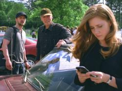 Justin Timberlake, Clint Eastwood and Amy Adams in Trouble with the Curve