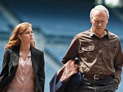 Amy Adams and Clint Eastwood in Trouble with the Curve.