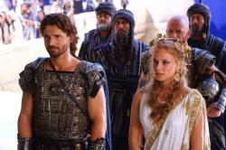 Eric Bana and Diane Kruger in Troy.