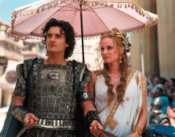 Orlando Bloom and Diane Kruger in Troy.
