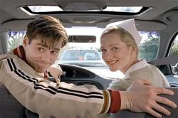 Jim Carrey and Laura Linney in The Truman Show