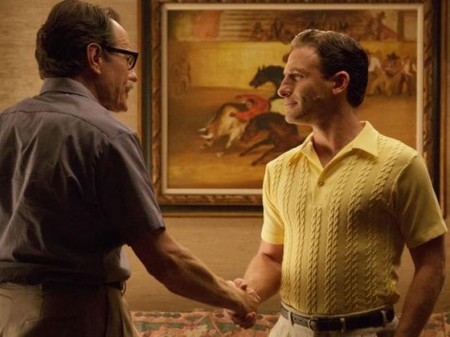 Bryan Cranston and Dean O'Gorman in Trumbo