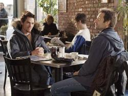 Billy Crudup and David Duchovny in Trust the Man.