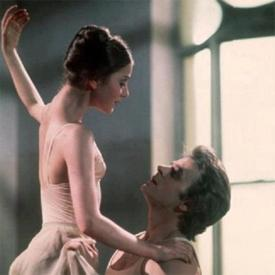 Leslie Browne and Mikhail Baryshnikov in The Turning Point