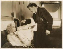 Carole Lombard and John Barrymore make cinematic magic together on board the Twentieth Century.