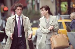 Hugh Grant and Sandra Bullock in Two Week's Notice.