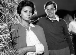 Sophia Loren and Jean Paul Belmondo in Two Women