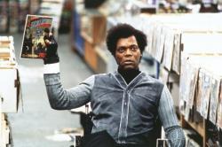 Samuel L. Jackson in Unbreakable.