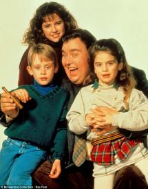 Macaulay Culkin, Jean Louisa Kelly, John Candy and Gaby Hoffman in Uncle Buck
