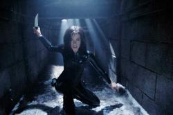 Kate Beckinsale in Underworld: Evolution.