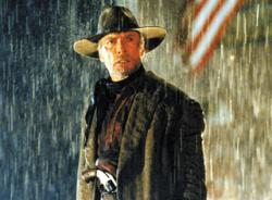 Clint Eastwood stars in and directs Unforgiven.