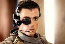 Jean-Claude Van Damme in Universal Soldier.