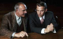 Sean Connery teaches Kevin Costner the Chicago Way in The Untouchables.