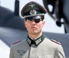 Tom Cruise as Colonel Claus von Stauffenberg, after he lost his eye.