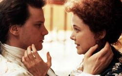 Colin Firth and Annette Benning in Valmont