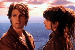 Tom Cruise and Penelope Cruz in Vanilla Sky.