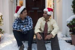 John Cho and Kal Penn in A Very Harold & Kumar 3D Christmas.