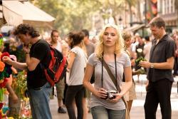 Scarlett Johansson in Vicky Cristina Barcelona.