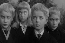 Some very scary children in Village of the Damned.
