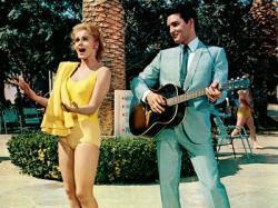 Ann-Margret and Elvis Presley in Viva Las Vegas.