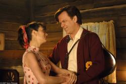 Kristen Wiig and John C. Reilly in Walk Hard: The Dewey Cox Story.