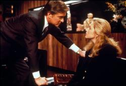 Michael Douglas and Kathleen Turner in The War of the Roses.