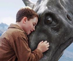 A boy and his water horse.