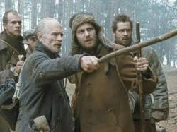 Gustaf Skarsgard, Ed Harris, Jim Sturgess and Colin Farrell looking for the way back.