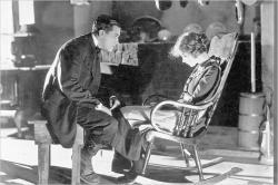 Richard Barthelmess and Lillian Gish in Way Down East.