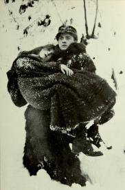 Lillian Gish and Richard Barthelmess in Way Down East