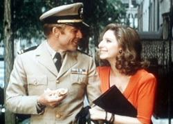Robert Redford and Barbra Streisand in The Way We Were.