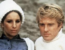 Barbra Streisand and Robert Redford in The Way We Were.