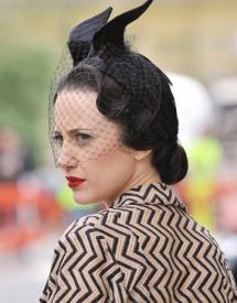 Andrea Riseborough as Wallis Simpson in W.E..